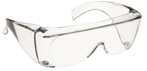 Protective eyewear for infection control