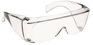 Gafas protectoras para el control de infecciones.